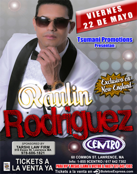 RAULIN RODRIGUEZ EN VIVO MAY 22