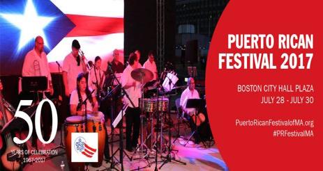 Boston Puerto Rican Festival 2017