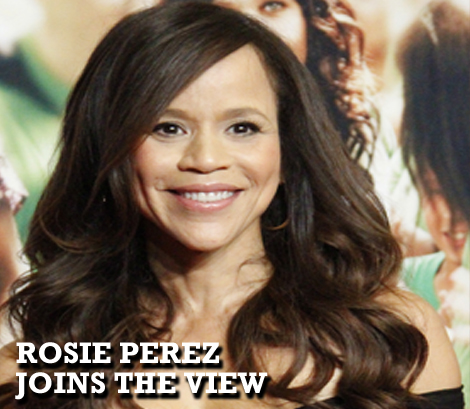Rosie Perez Joins The View