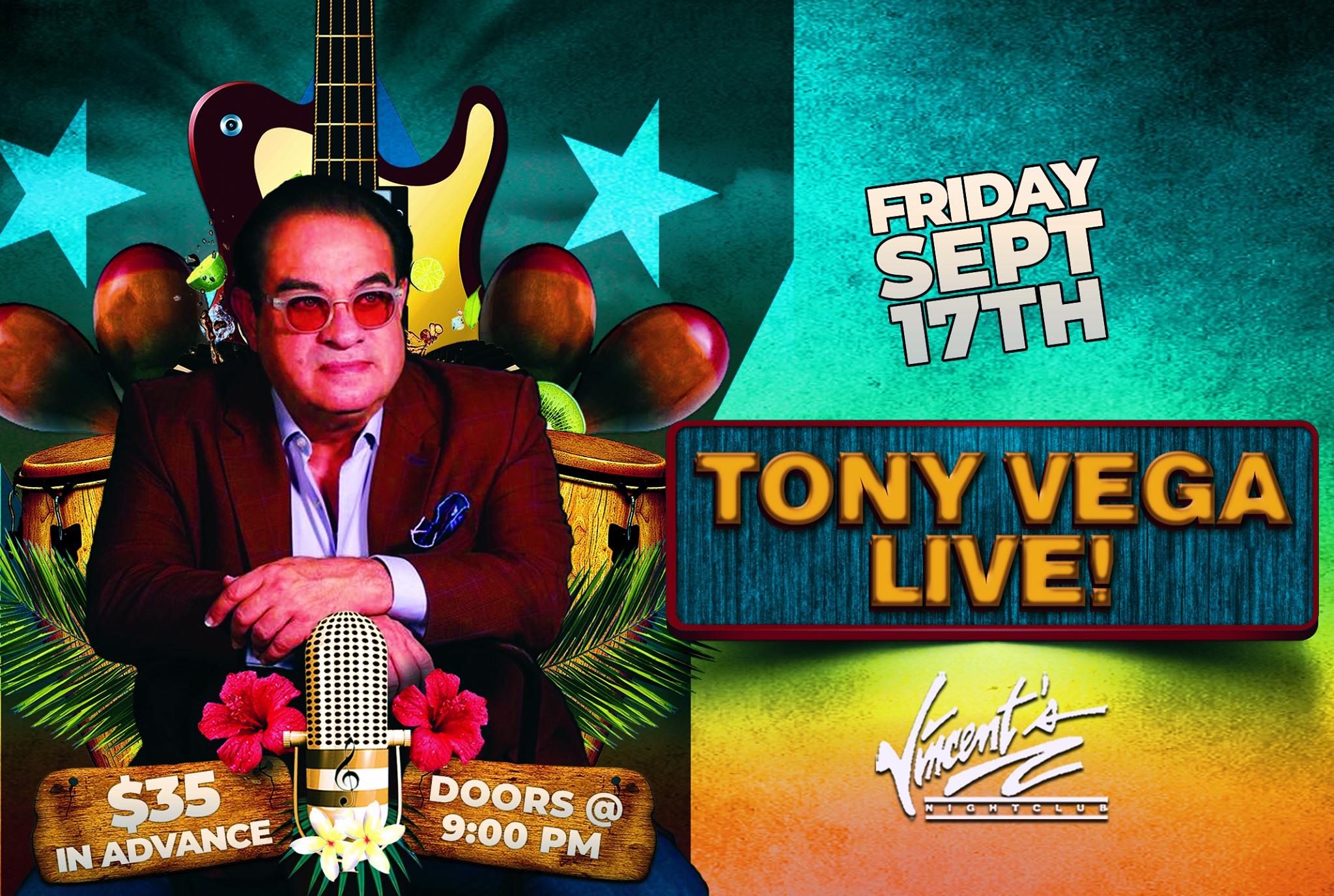Tony Vega At Vincent's Nightclub